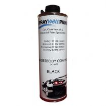 Underbody Coating Schutz Black 1L